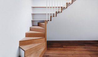 Лестница из бука ЛБ12