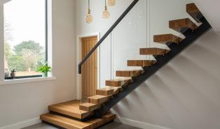 Лестница из бука ЛБ14