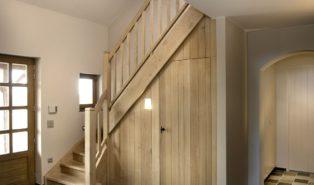 Лестница из дуба ЛД14