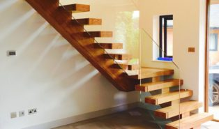 Лестница из бука ЛБ16