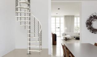 Металлическая винтовая лестница ЛМВ16