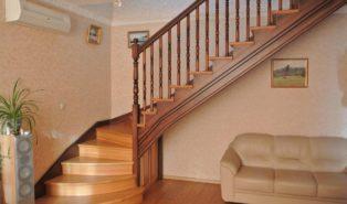 Лестница, массив бука ЛБ19