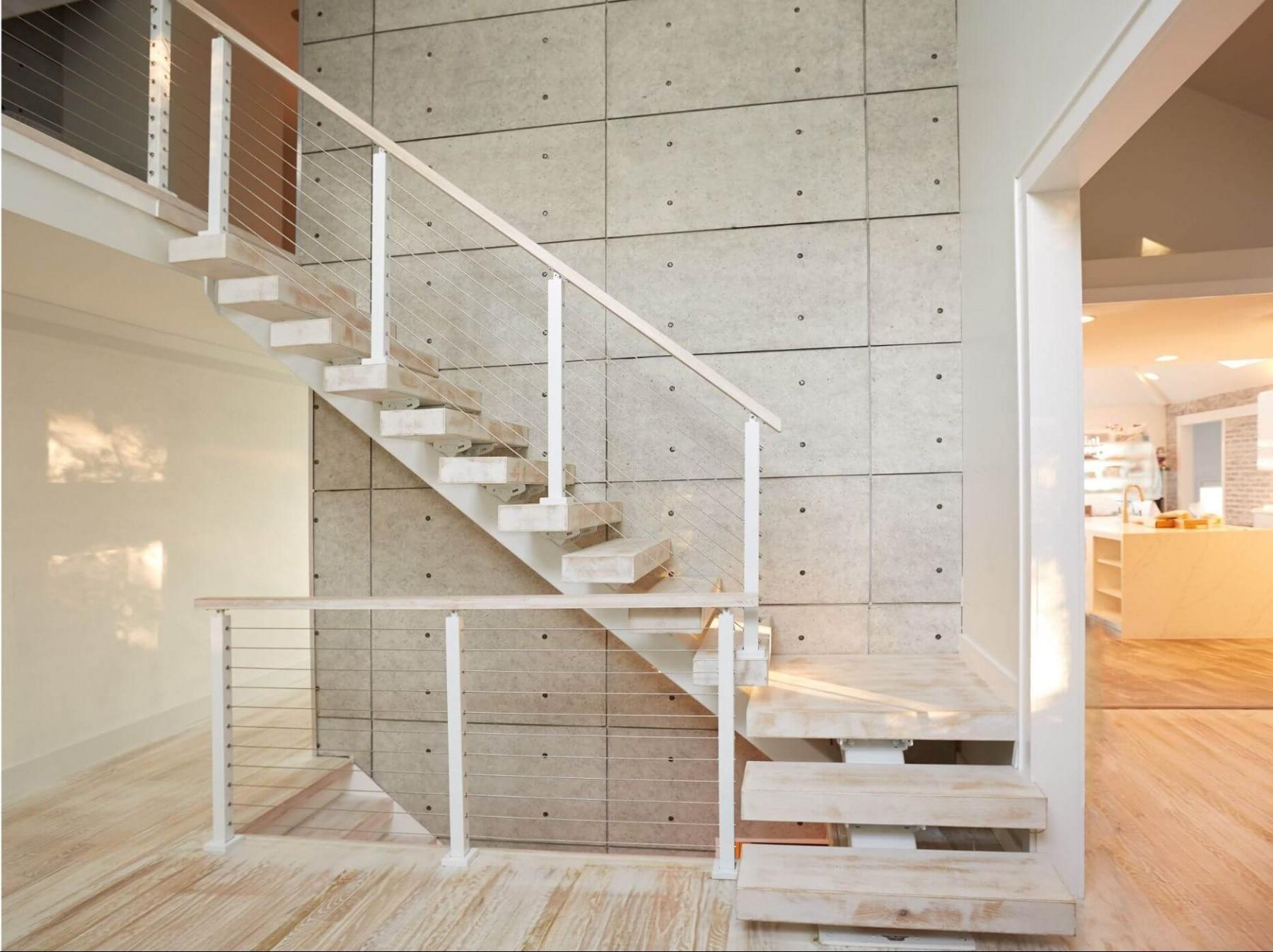 Металлокаркас, Г-образная лестница ЛМГО22
