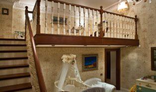 Лестница буковая ЛБ25