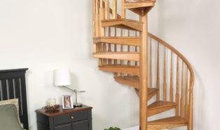 Винтовая лестница, дерево ЛВ28