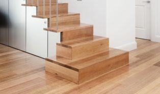 Отделка лестницы ламинатом ОЛЛ28