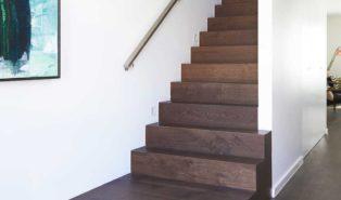 Отделка лестницы ламинатом ОЛЛ29