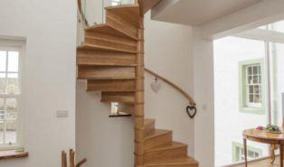 Винтовая лестница, дерево ЛВ29