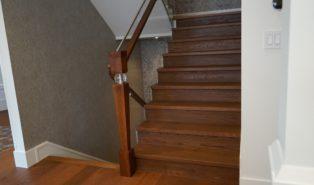 Лестница, массив дуба ЛД3