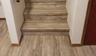 Отделка лестницы ламинатом ОЛЛ32