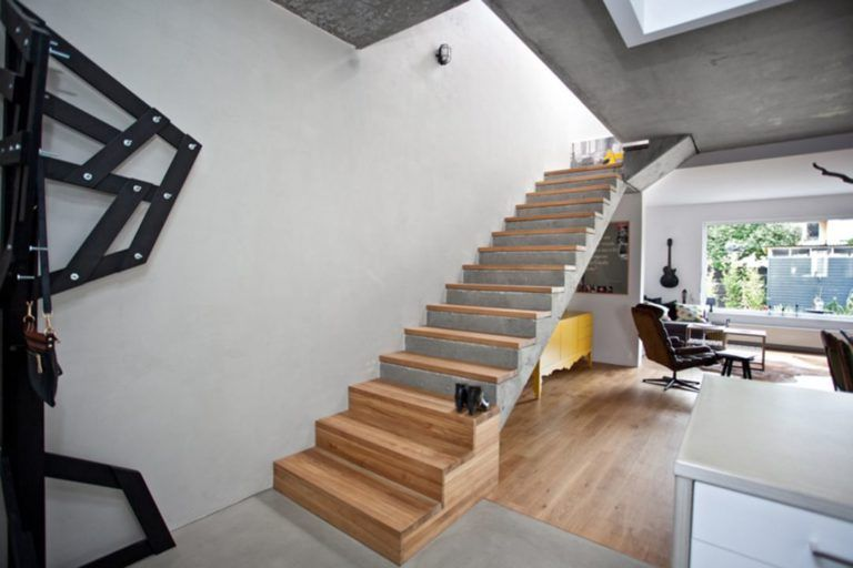 Отделка лестницы деревом ОЛД4