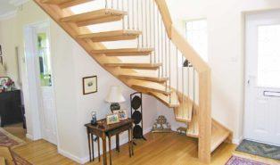 Лестница из бука ЛБ9
